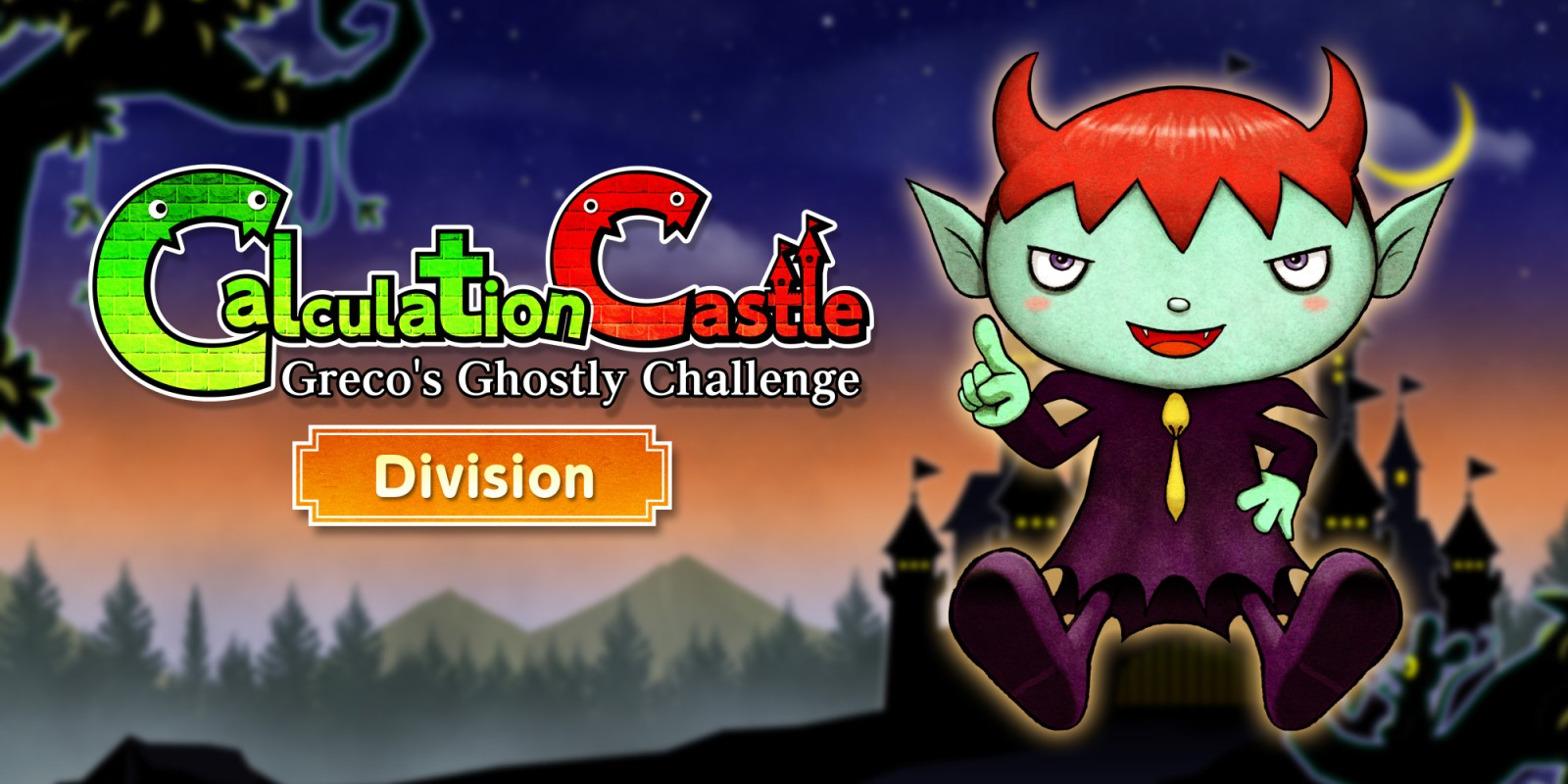 "Calculation Castle : Greco's Ghostly Challenge ""Division"""