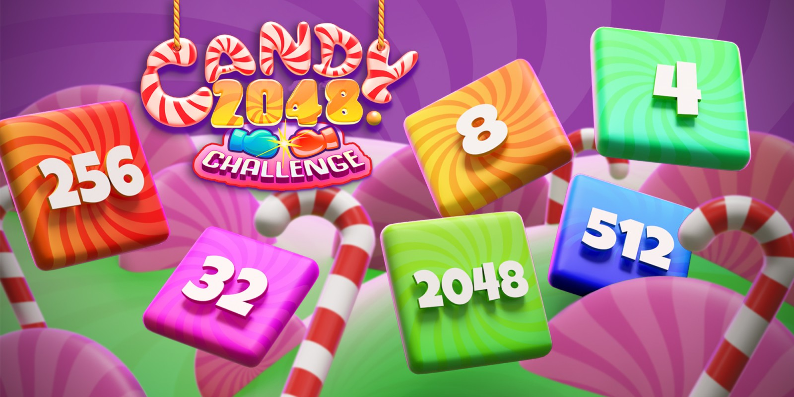 Candy 2048 Challenge