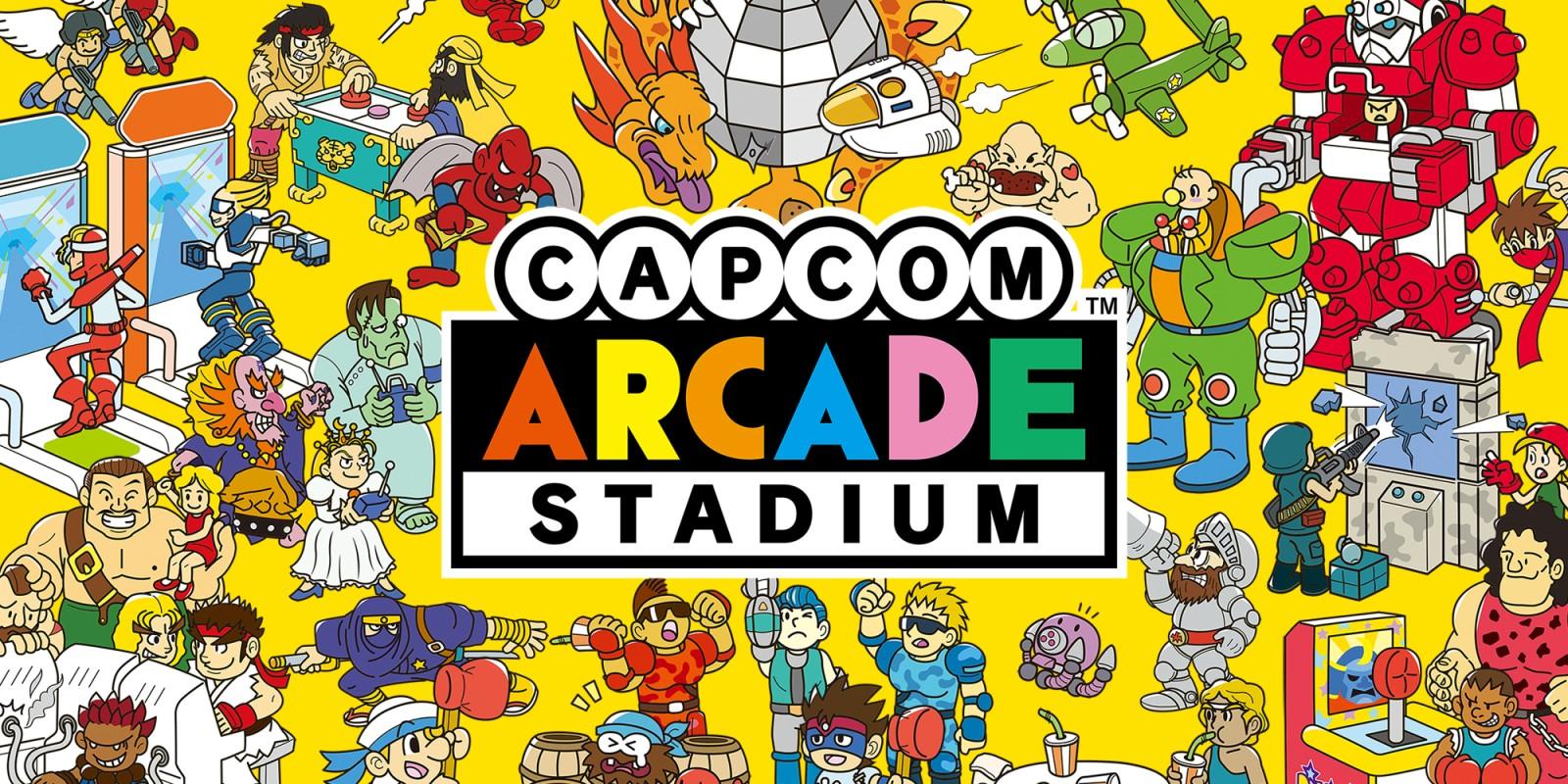 Capcom Arcade Stadium | Jeux à télécharger sur Nintendo Switch | Jeux |  Nintendo