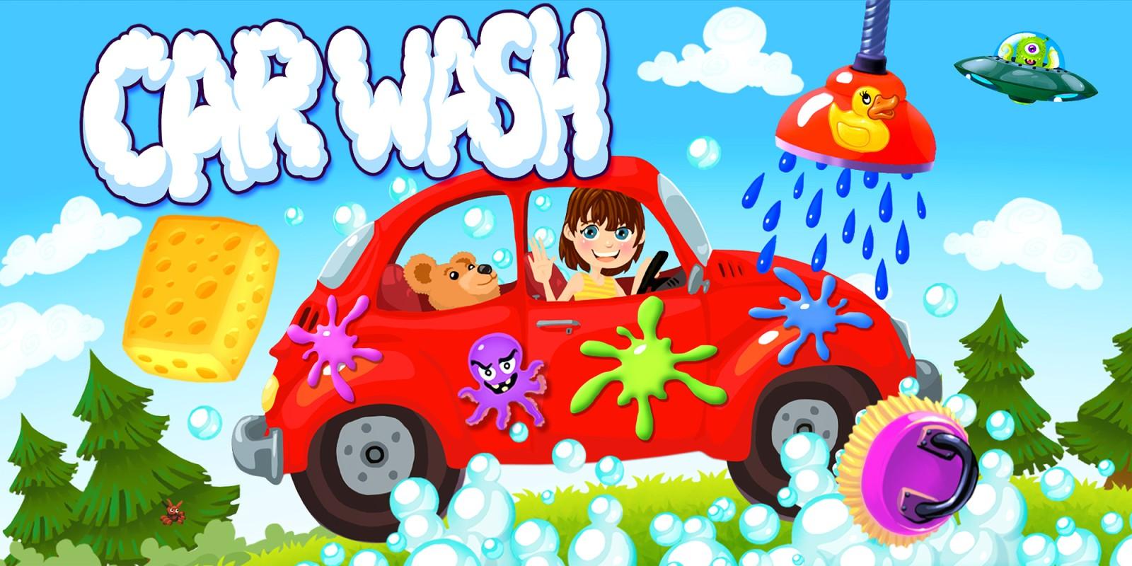 Car Wash – Auto & LKW Waschanlage Garage Spiel für Kinder