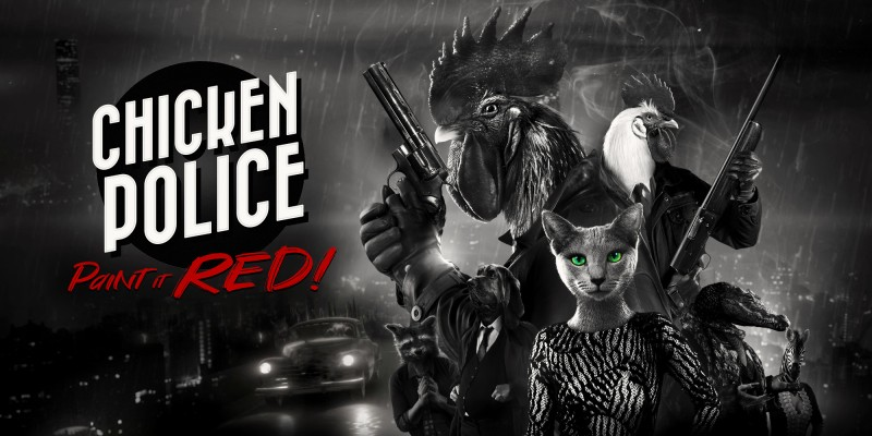 Chicken Police – Paint it RED!