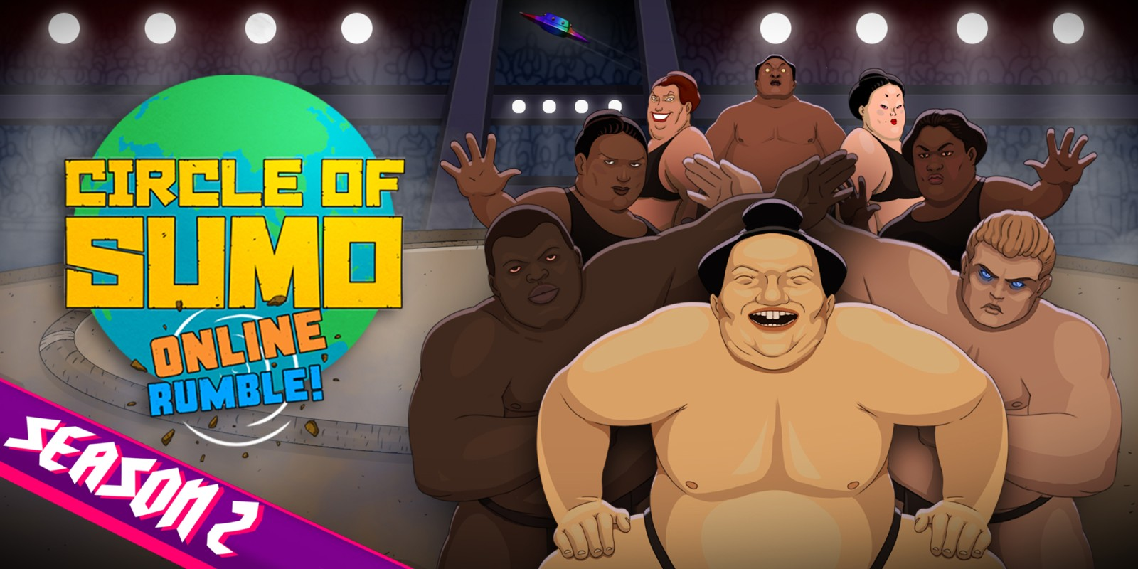 Circle of Sumo: Online Rumble!