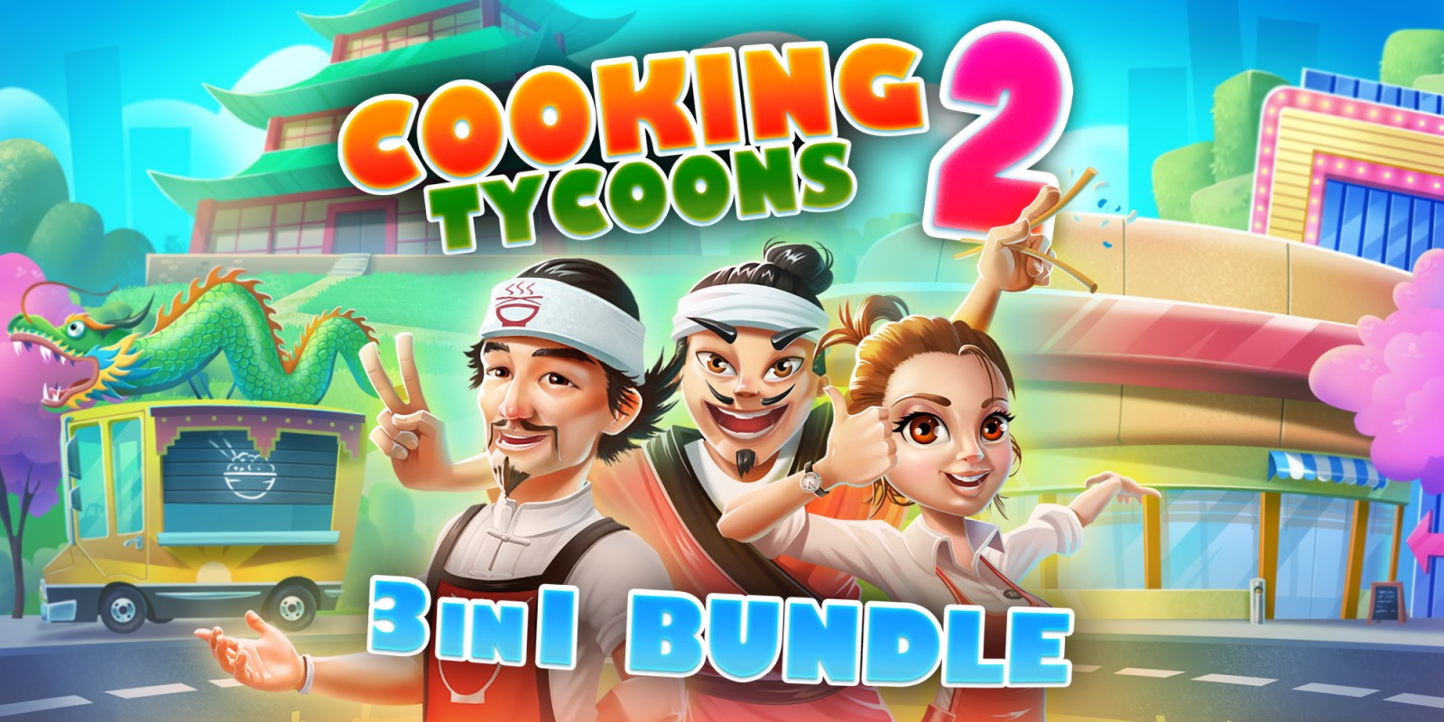 Cooking Tycoons 2: 3 in 1 Bundle