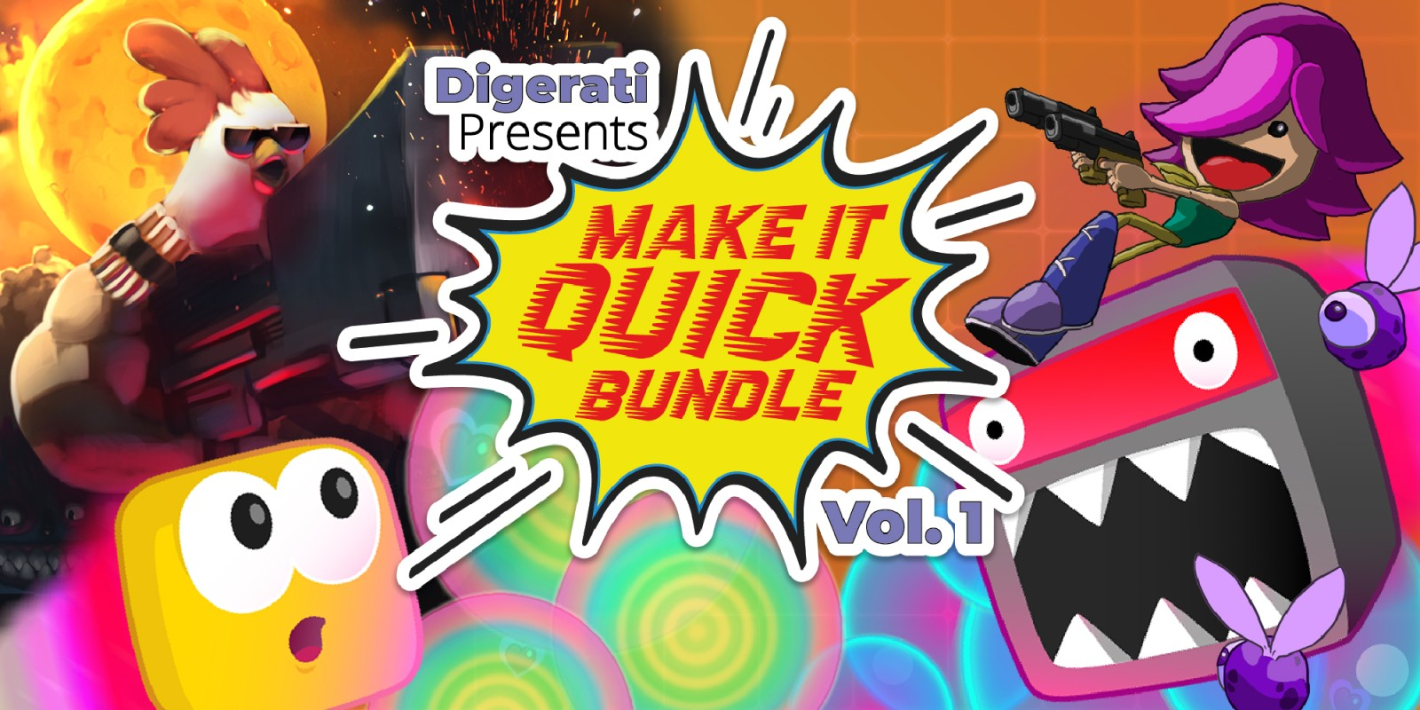 Digerati Presents: Make It Quick Bundle Vol. 1