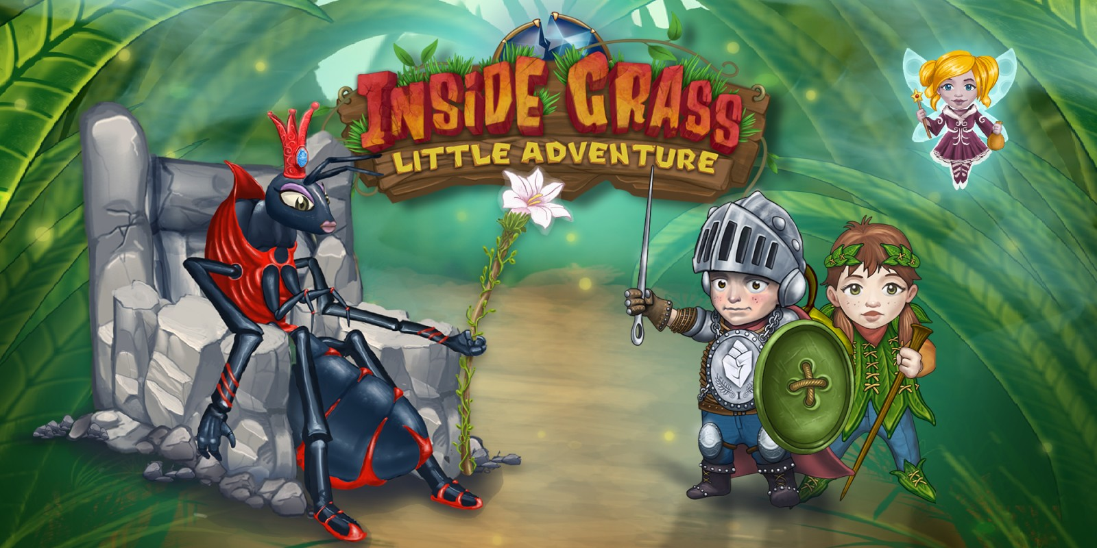 Inside Grass: A little adventure