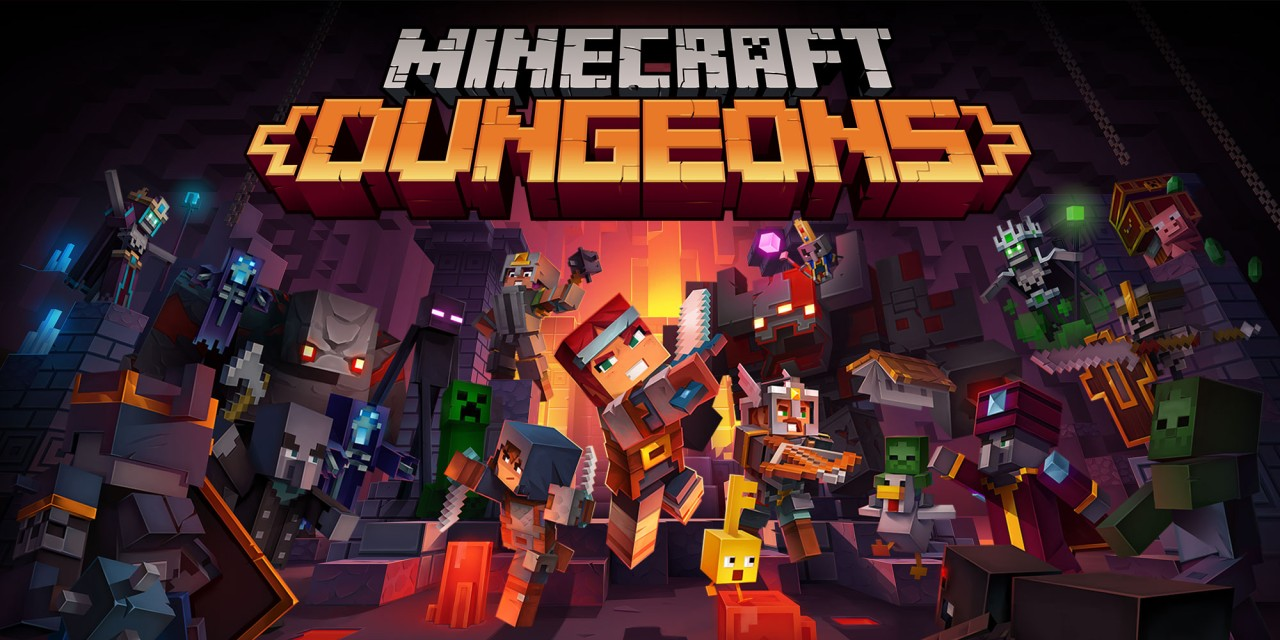 Minecraft Dungeons  Nintendo Switch  Jeux  Nintendo