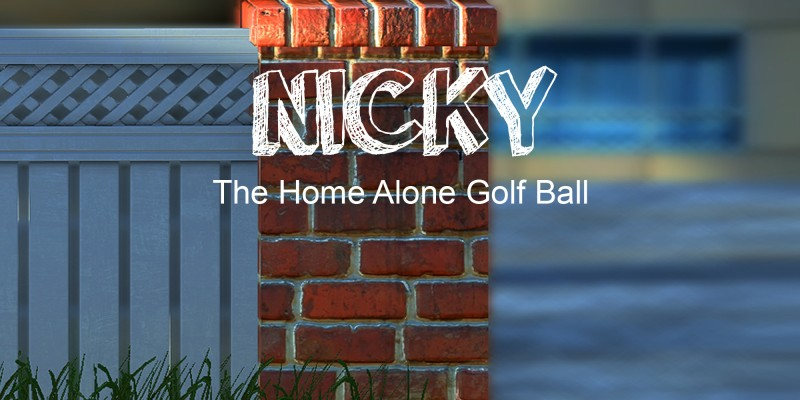 Nicky - The Home Alone Golf Ball