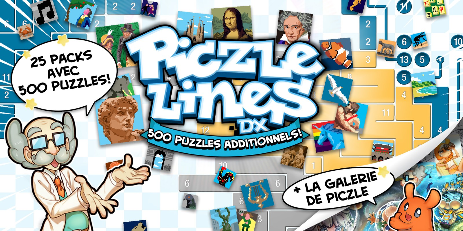 Piczle Lines DX 500 puzzles additionnels!