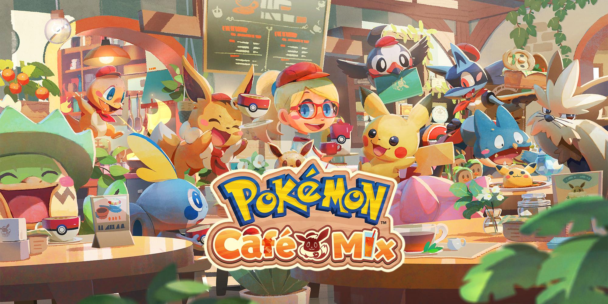 Pokémon Café Mix | Jeux à télécharger sur Nintendo Switch | Jeux | Nintendo