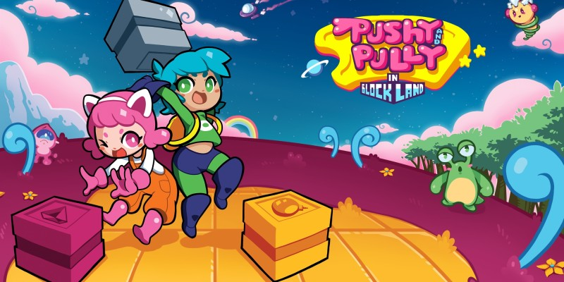 Pushy and Pully in Blockland