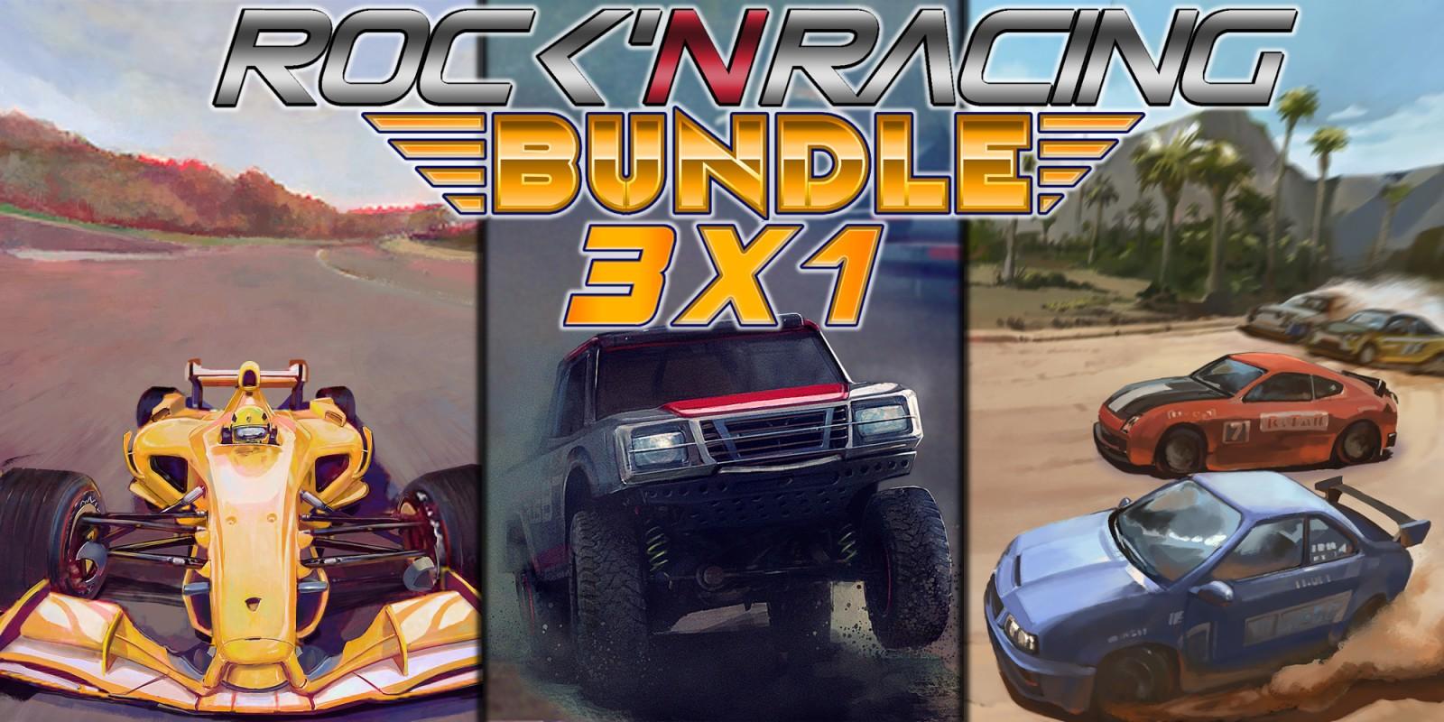 Rock 'N Racing Bundle 3 in 1