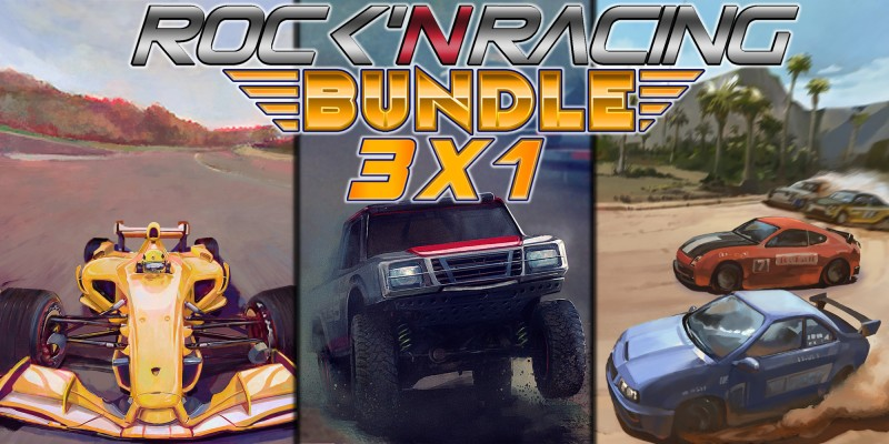 Rock 'N Racing Bundle 3 in 1