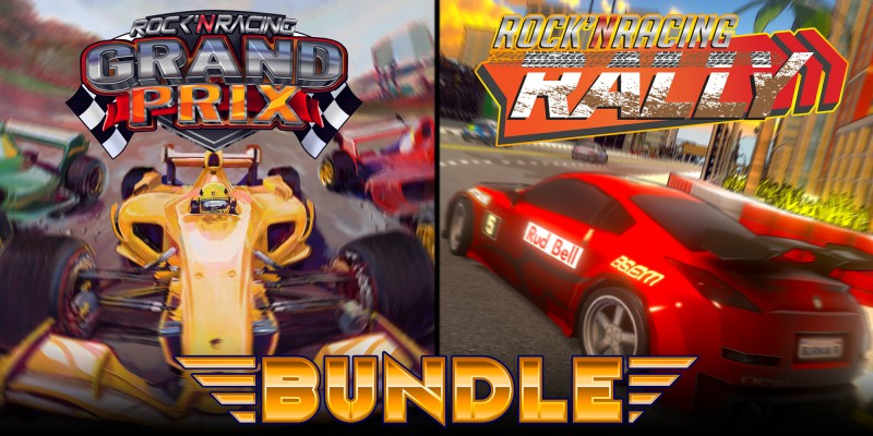 Rock 'N Racing Bundle Grand Prix & Rally