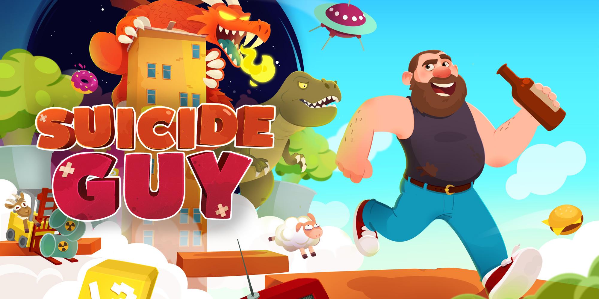 Suicide Guy Jeux à Télécharger Sur Nintendo Switch Jeux