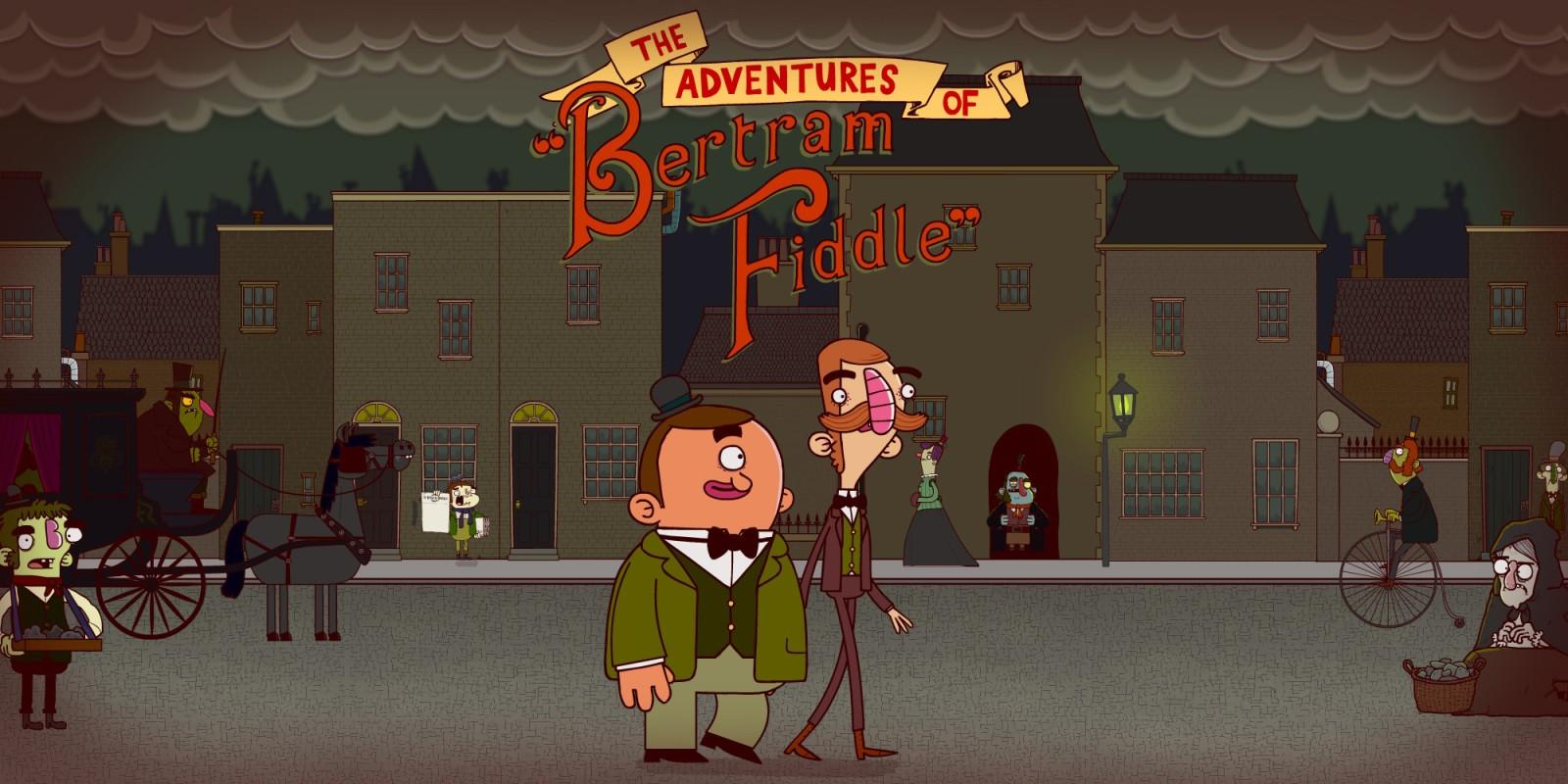 Die Abenteuer von Bertram Fiddle: Episode 1: Ein haariger Fall