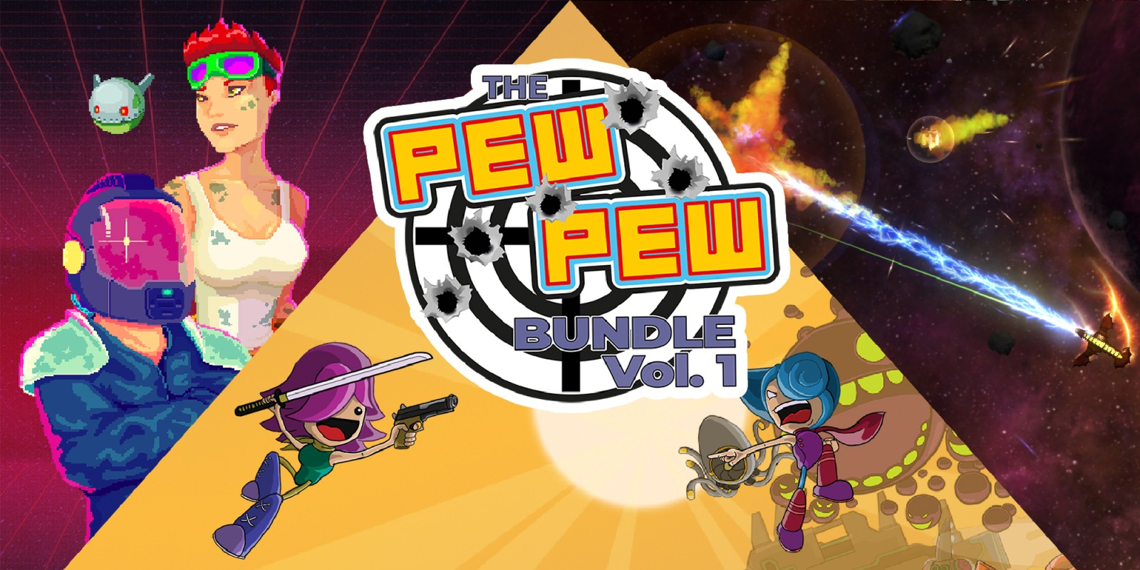 The Pew Pew Bundle Vol. 1