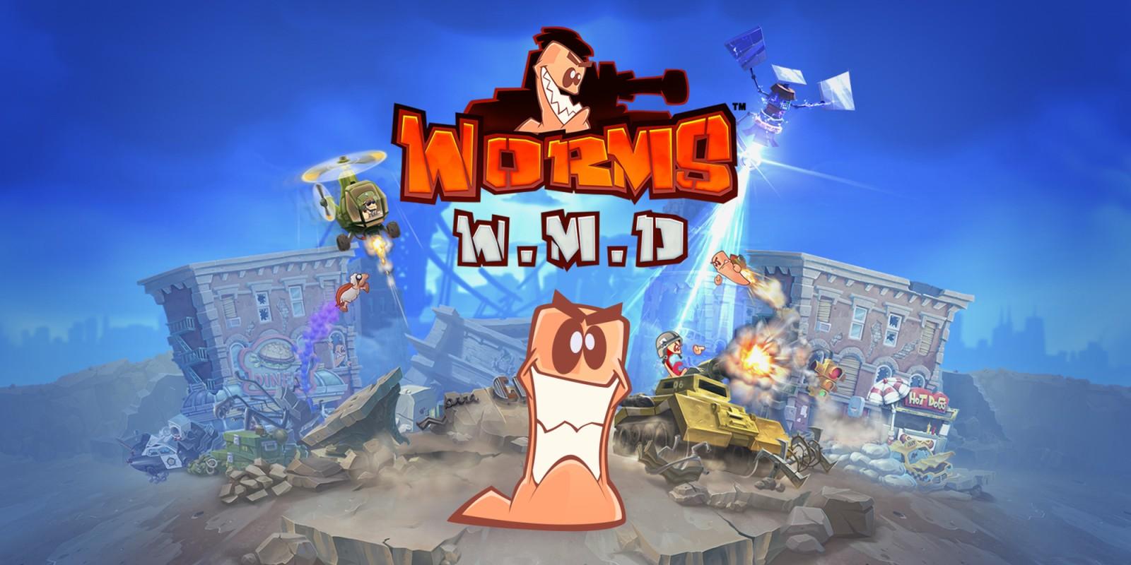 worms w m d jeux t l charger sur nintendo switch jeux nintendo. Black Bedroom Furniture Sets. Home Design Ideas