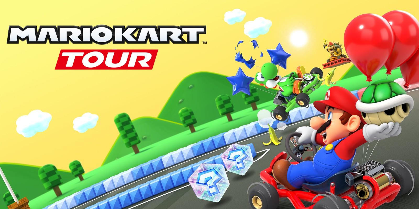 Mario Kart Tour Tablettes Et Smartphones Jeux Nintendo