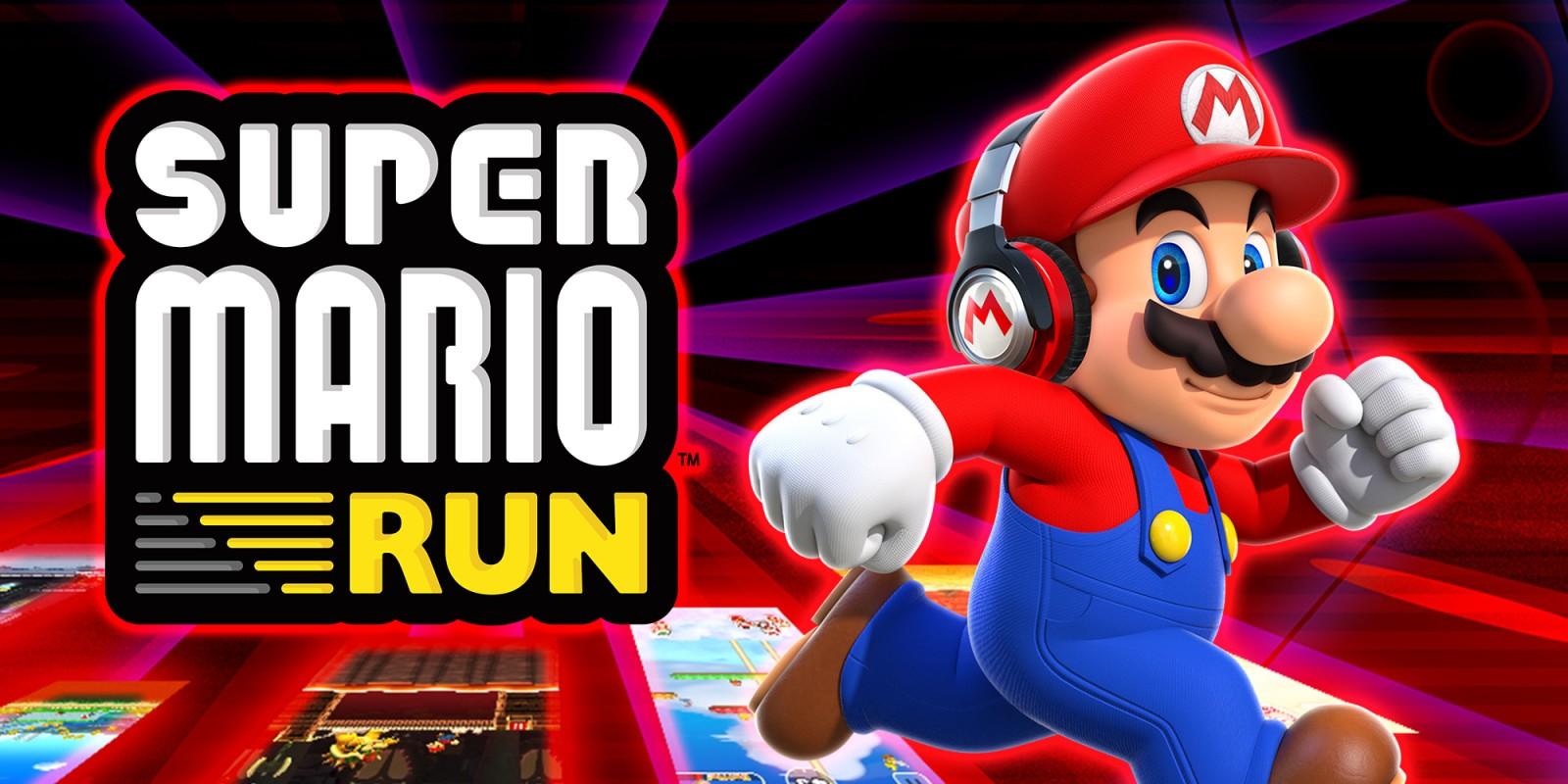 Super mario run tablettes et smartphones jeux nintendo - Mario gratuit ...