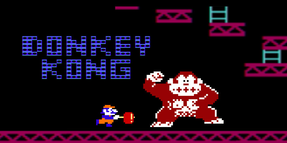 donkey kong nes jeux nintendo. Black Bedroom Furniture Sets. Home Design Ideas