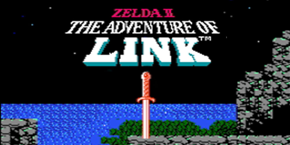Zelda ii the adventure of link nes jeux nintendo for Achat maison zelda