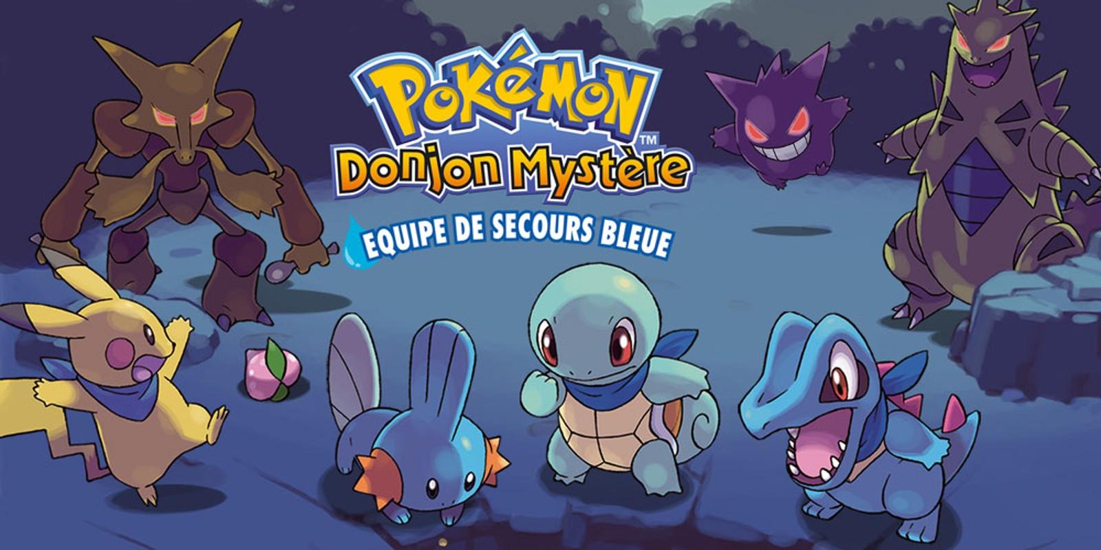 rom pokemon donjon mystere equipe de secours bleue