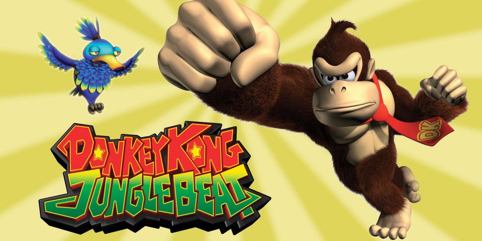 cf257859930 Donkey Kong Jungle Beat NOUVELLE FAÇON DE JOUER !