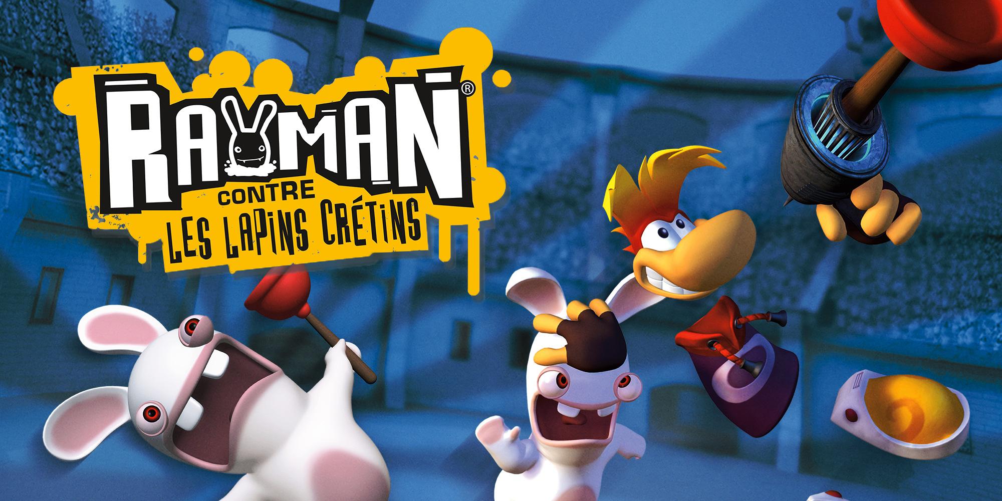 Rayman® contre les lapins crétins | Wii | Jeux | Nintendo