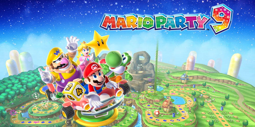 Mario Party 9 Wii Jeux Nintendo