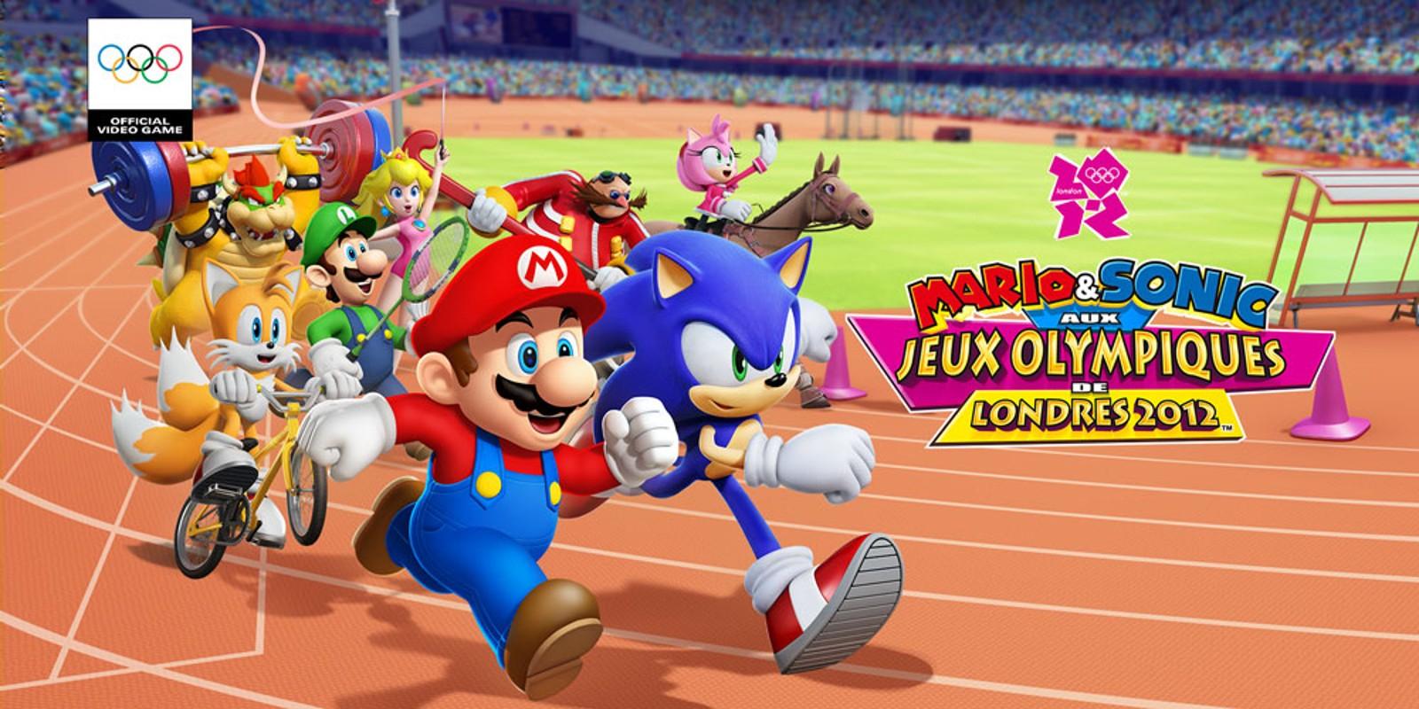 Mario & Sonic aux Jeux Olympiques de Londres 2012™ | Wii | Jeux ...