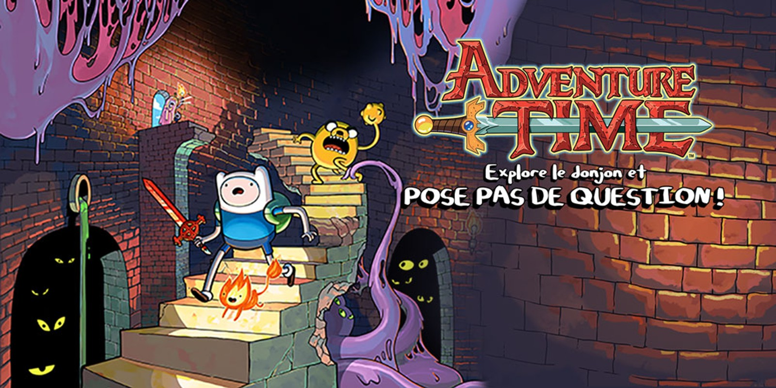 Adventure Time™ : Explore le donjon et POSE PAS DE QUESTION !