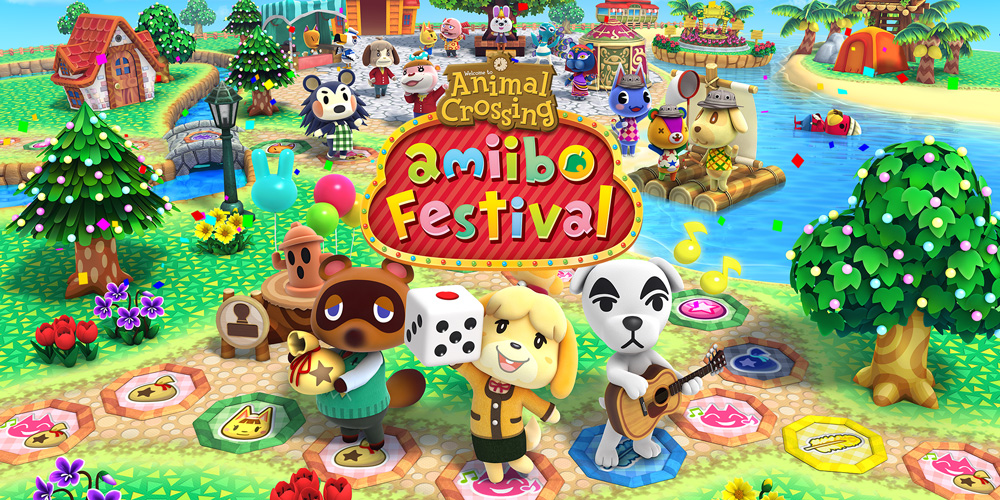 Animal crossing amiibo festival wii u jeux nintendo for Agrandissement maison animal crossing wii