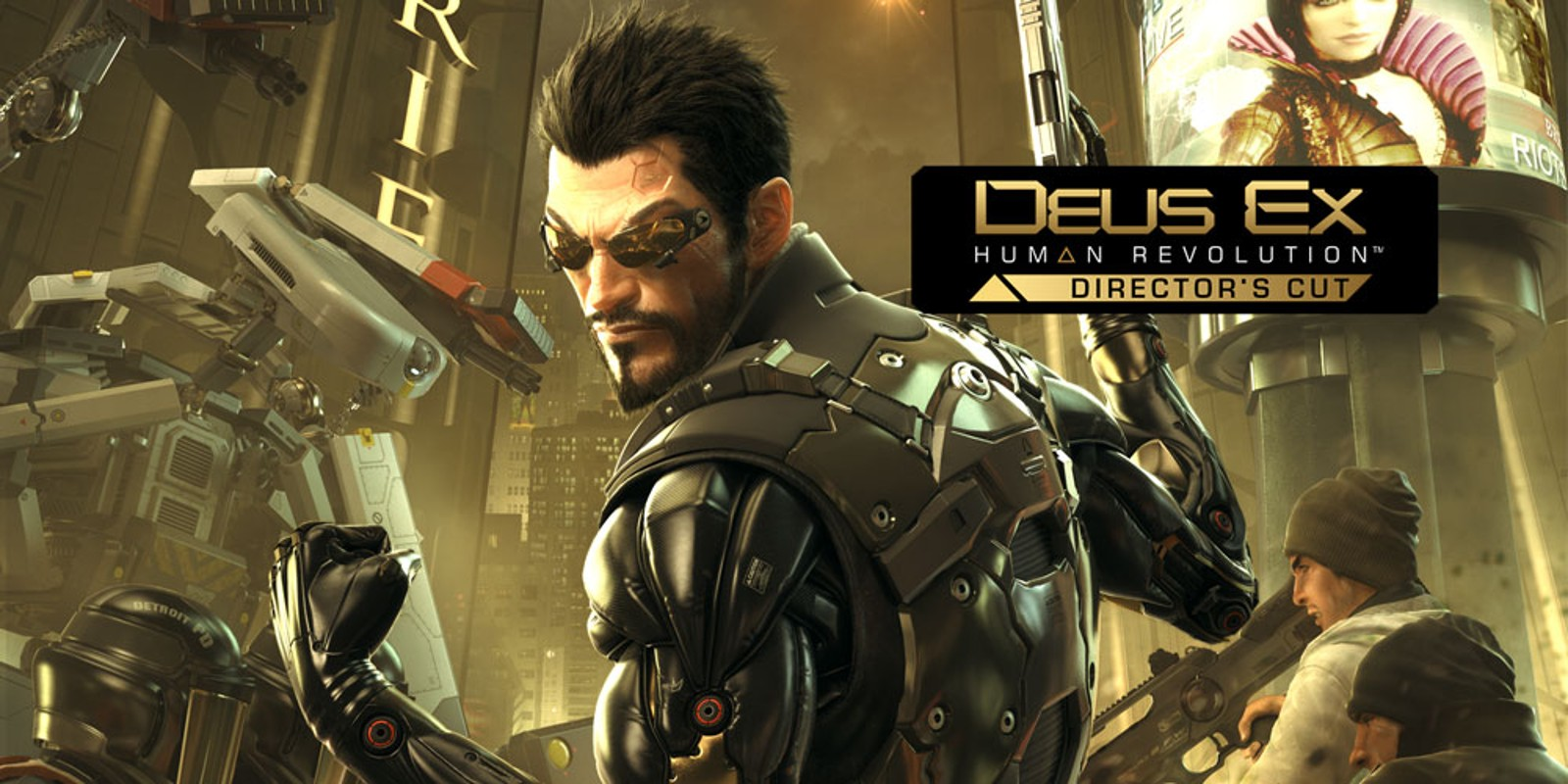 Deus Ex: Human Revolution – Director's Cut | Wii U | Spiele | Nintendo
