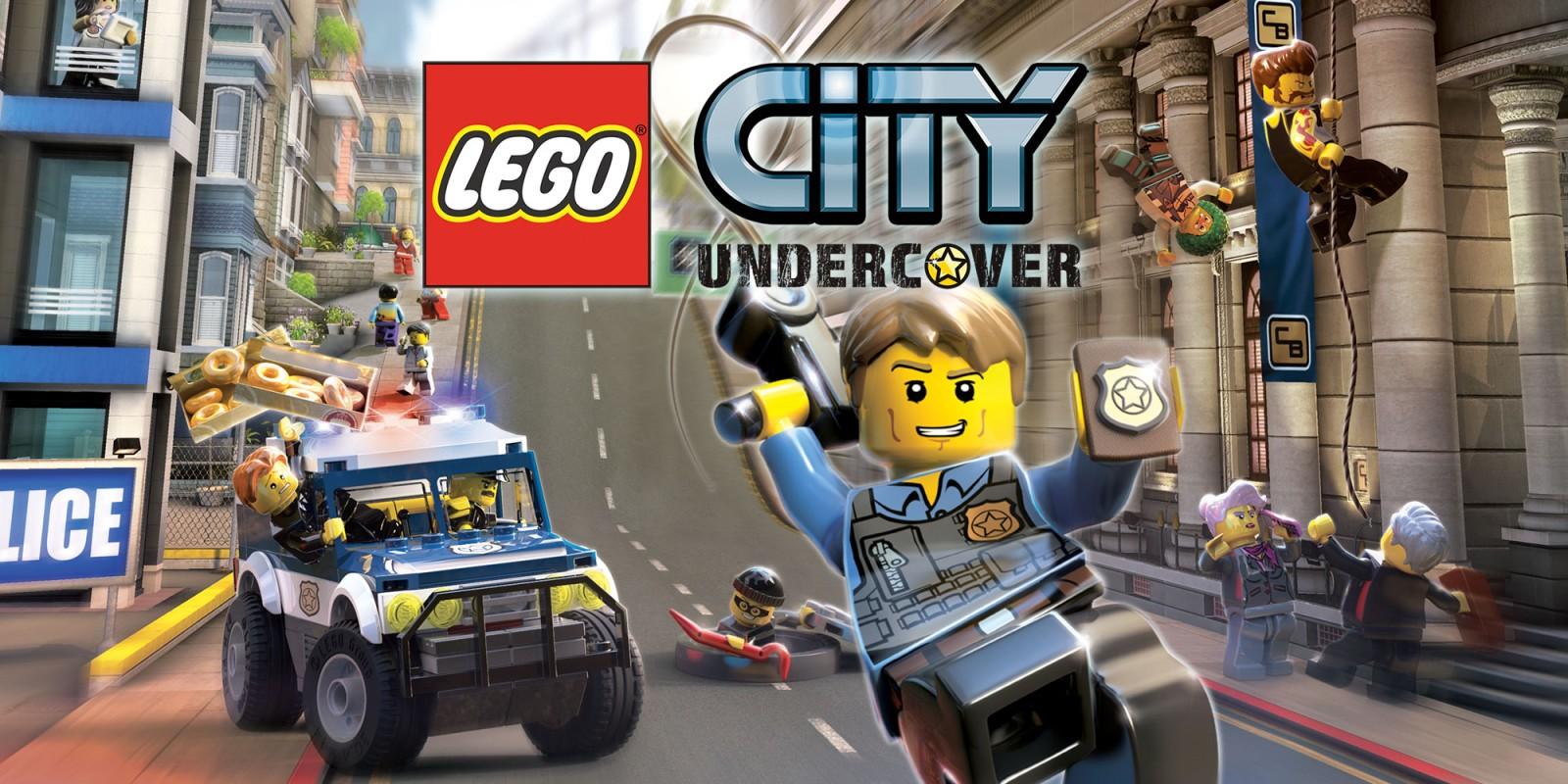 Lego city undercover wii u jeux nintendo - Modele lego gratuit ...
