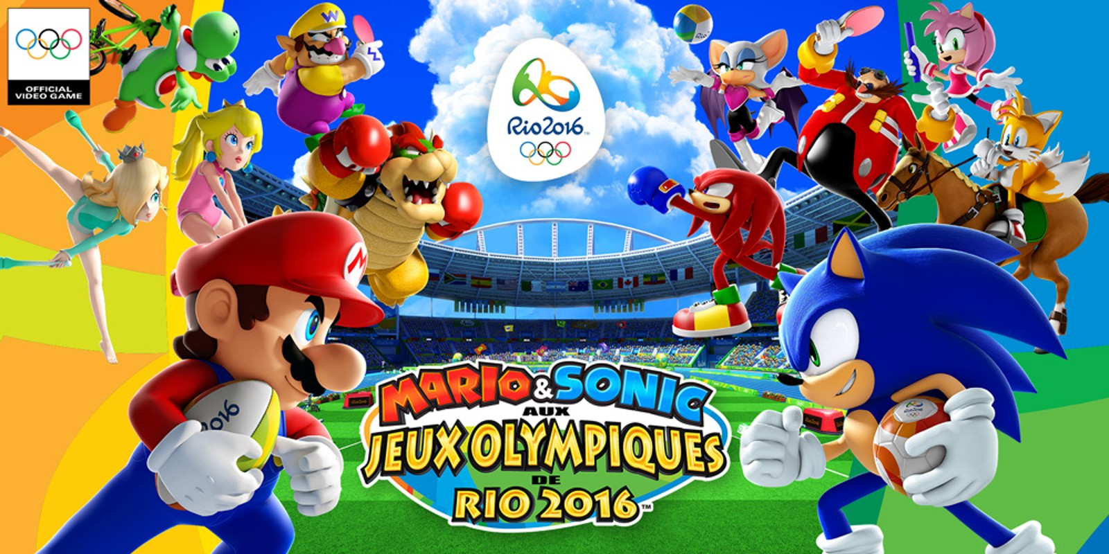 mario sonic aux jeux olympiques de rio 2016 wii u jeux nintendo. Black Bedroom Furniture Sets. Home Design Ideas