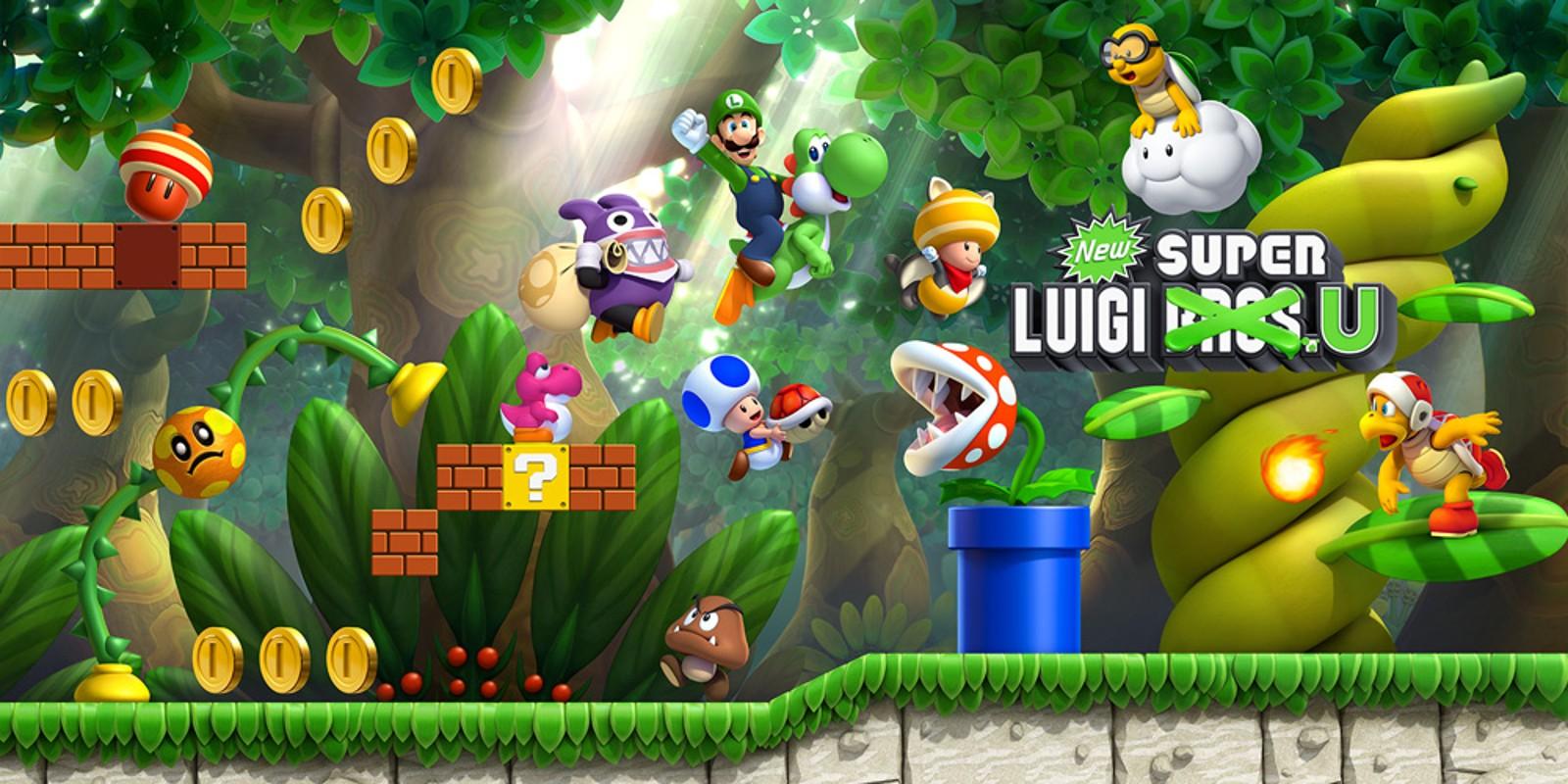 New Super Luigi U Wii U Spiele Nintendo