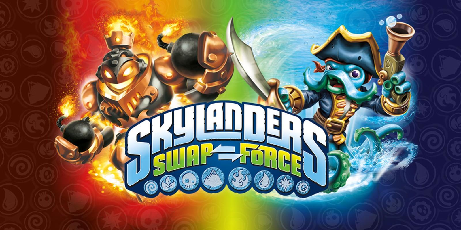 Skylanders swap force wii u jeux nintendo - Jeux gratuit skylanders ...