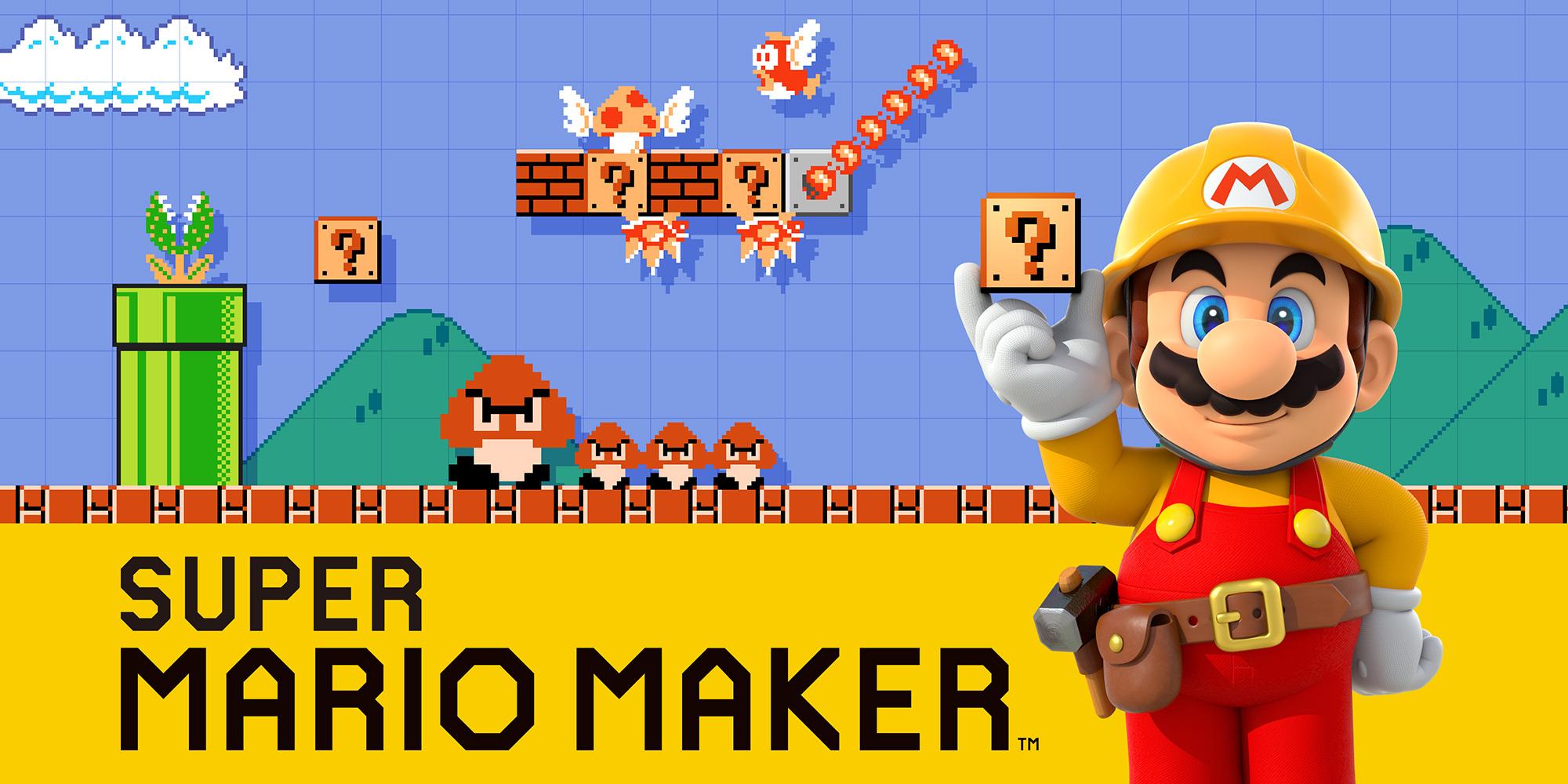 Super Mario Maker Est Dsormais En Boutique Et Sur Le Nintendo EShop