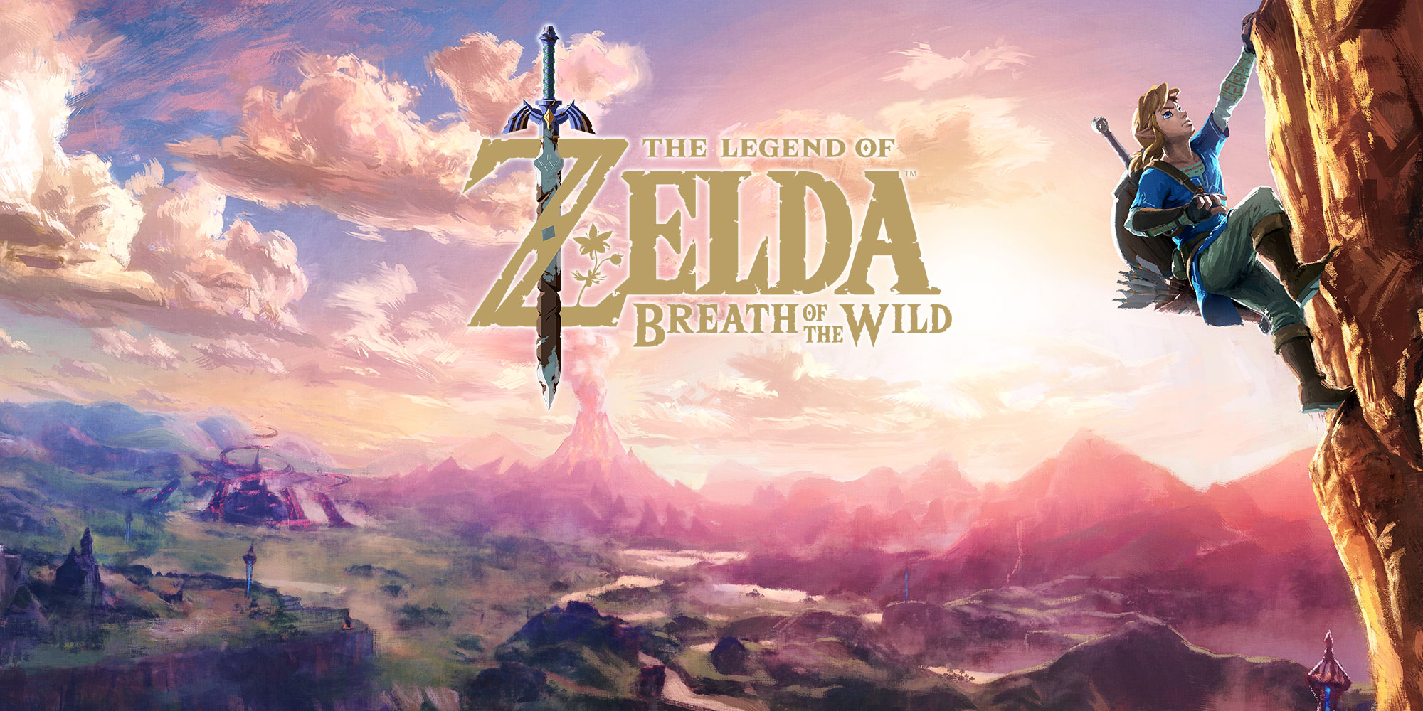 Plongez dans un monde d'aventure sur le nouveau site de The Legend of Zelda: Breath of the Wild