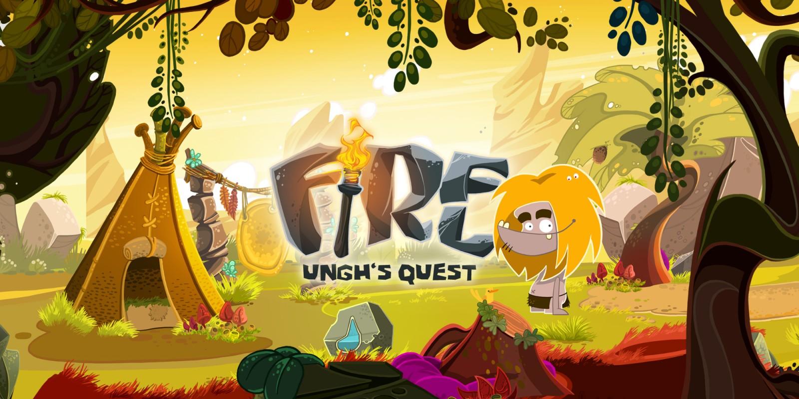 Fire: Ungh's Quest | Jeux à télécharger sur Wii U | Jeux | Nintendo