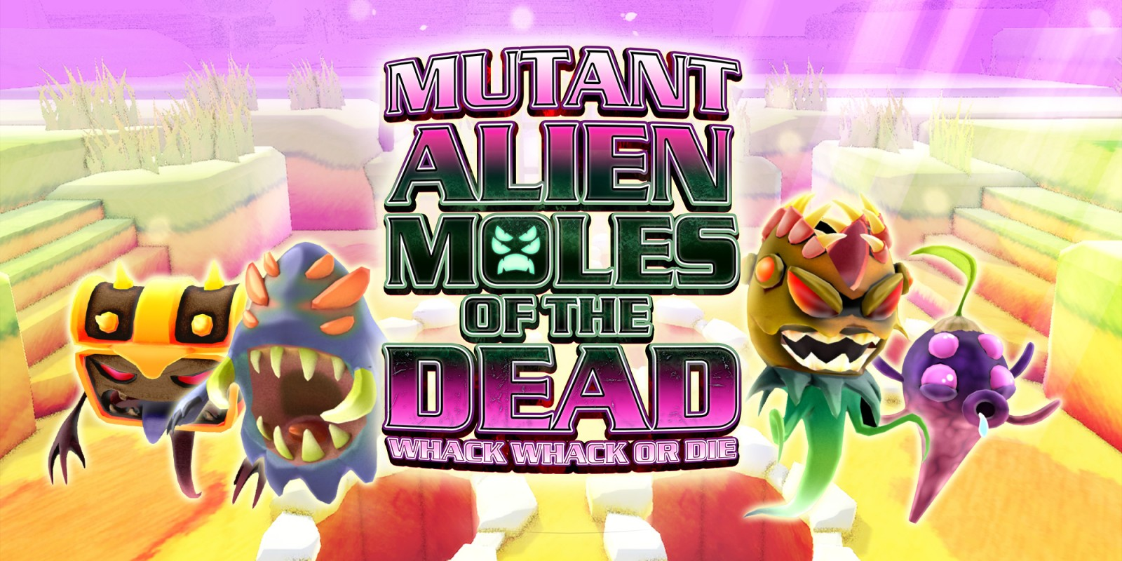Mutant Alien Moles of the Dead