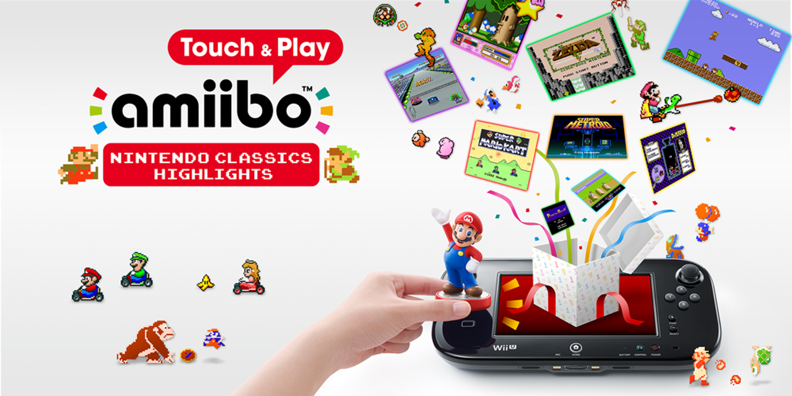 amiibo Touch & Play: Nintendo Classics Highlights