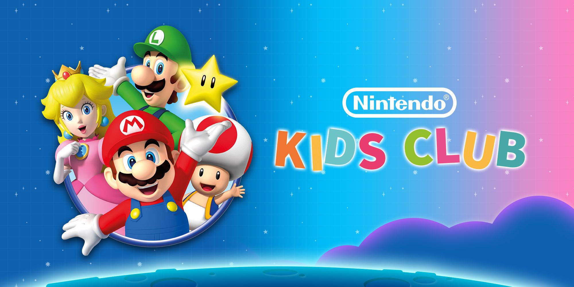 Der Nintendo Kids Club Wartet Mit Neuen Spielen Und Aktivitäten Auf