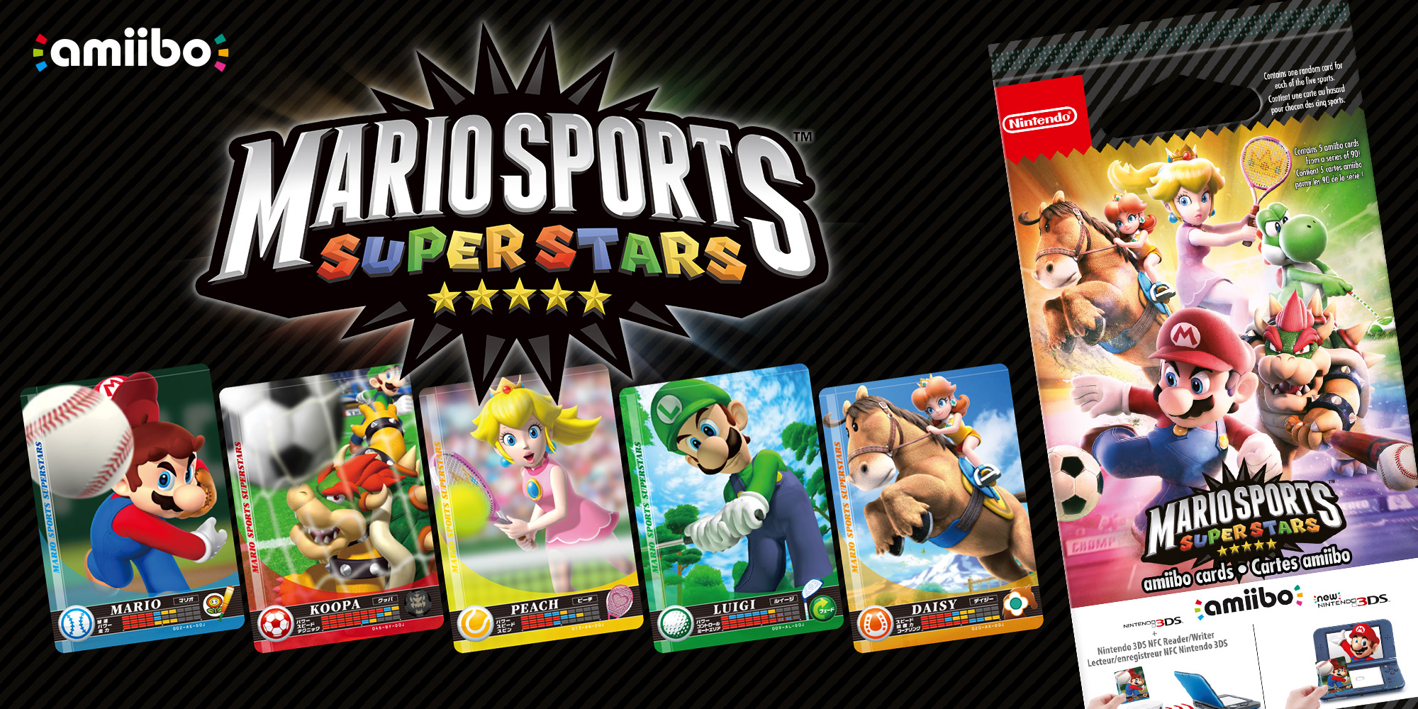 Cartes amiibo Mario Sports Superstars | Mario Sports Superstars | Nintendo