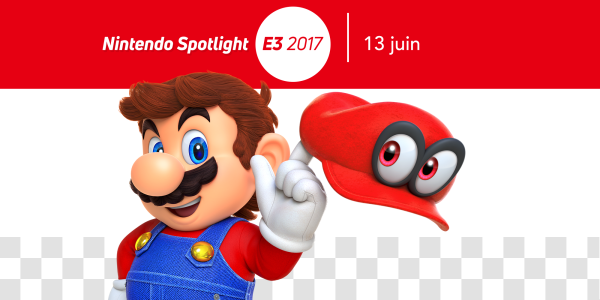 Site officiel de Nintendo of Europe à l'E3 2017