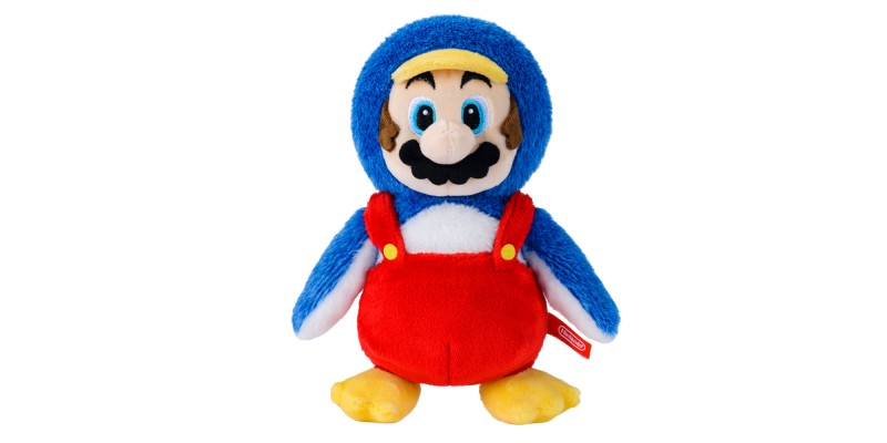 Plüsch-Pinguin-Mario - Nintendo Tokyo Exclusive Collection