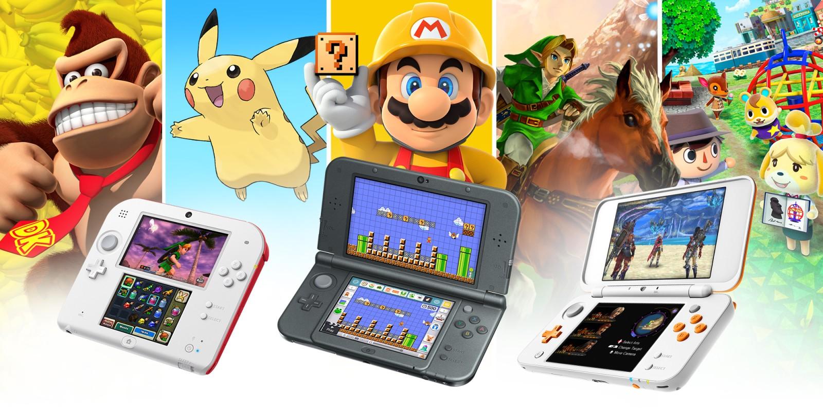 Famille Nintendo 3ds Nintendo