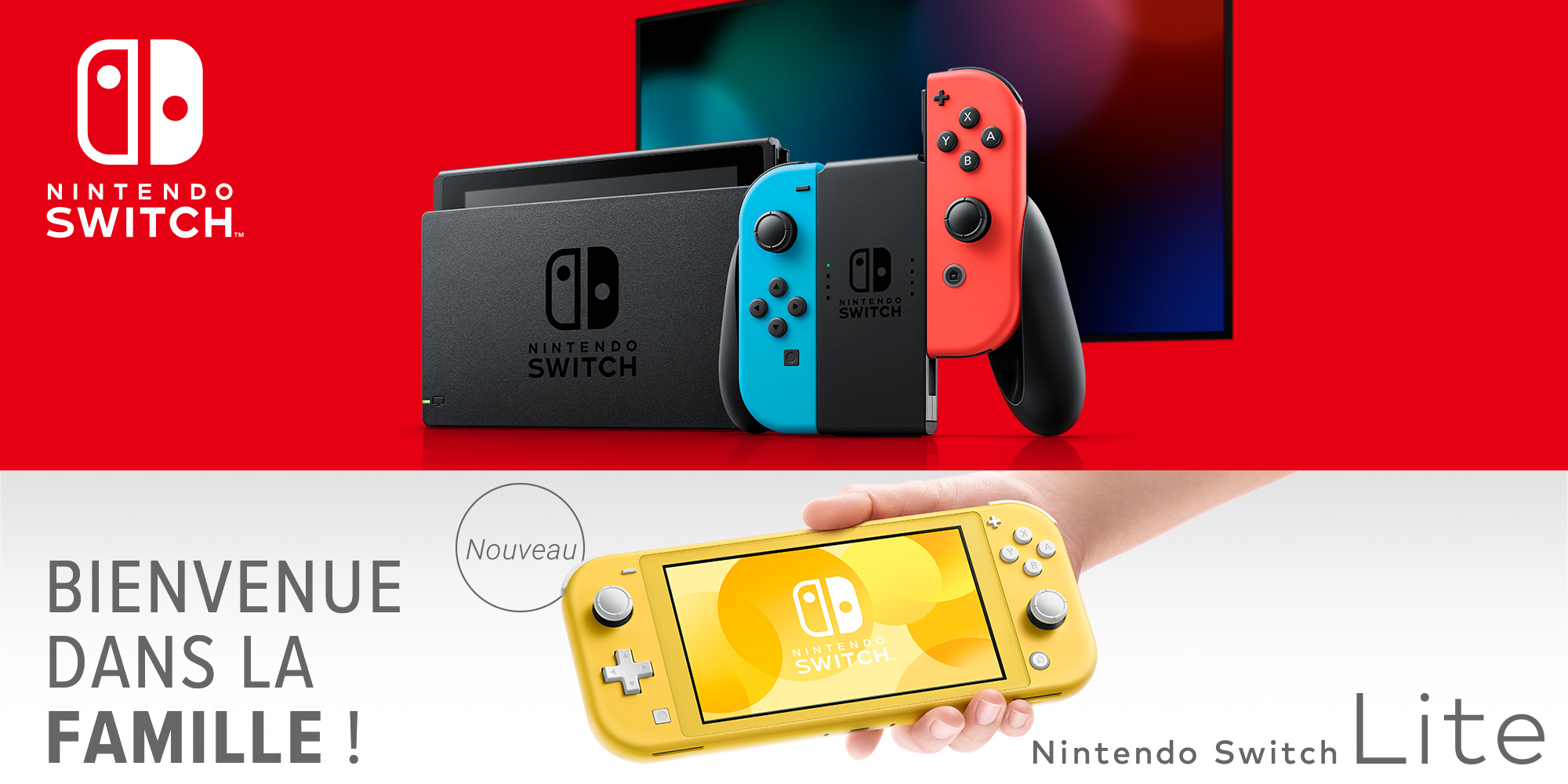 La Nintendo Switch Lite arrive !