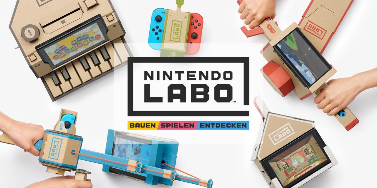 Erschafft ganz neue Arten zu spielen – mit Nintendo Labo!