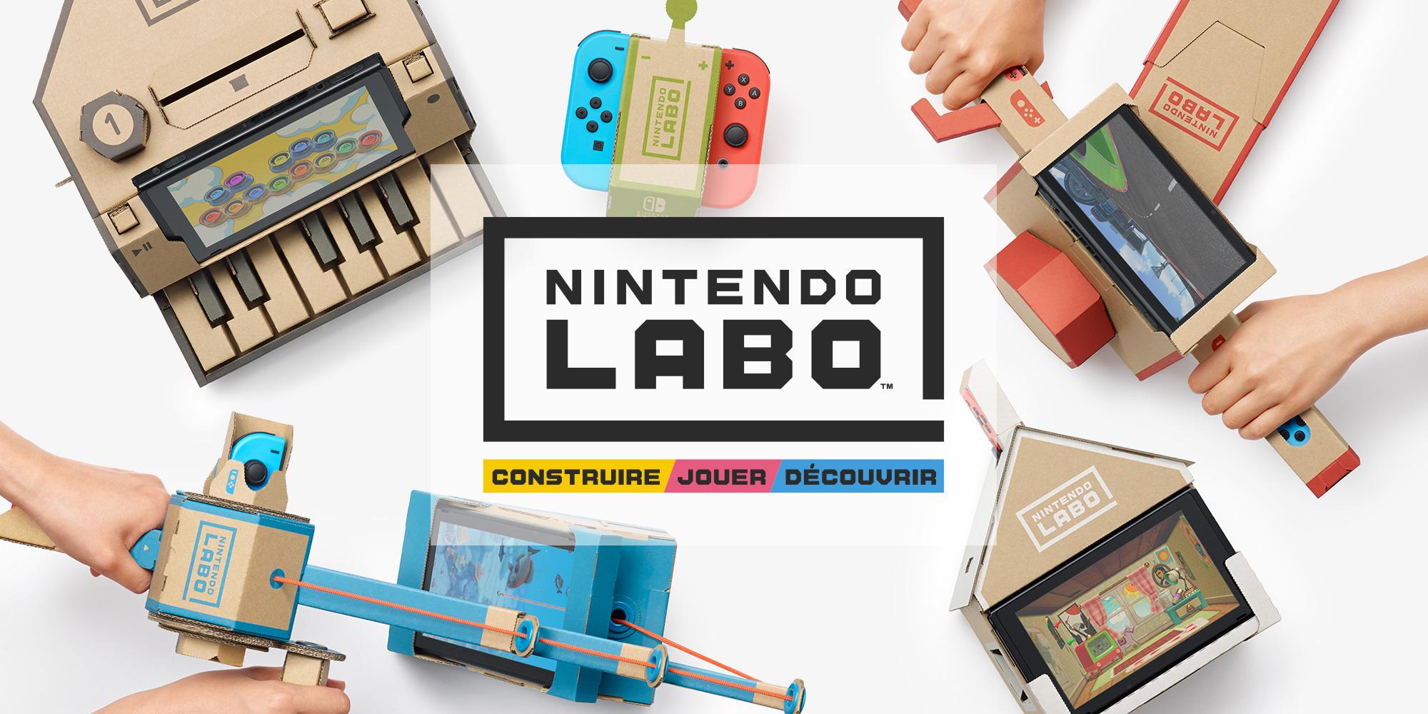 """Résultat de recherche d'images pour """"Nintendo Labo"""""""